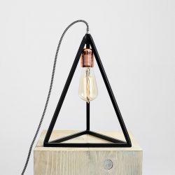 Tafellamp Trimetric | Zwart