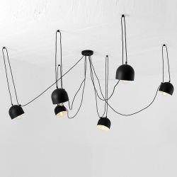 Pendant Lamp Popo 6 | Black