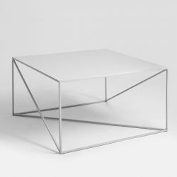 Coffee Table Memo 80 x 80 cm | Grey