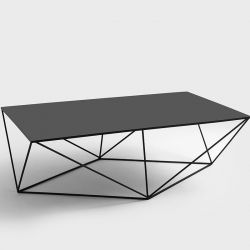 Side Table Daryl 140 | Black