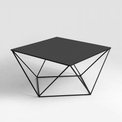 Side Table Daryl 80 | Black