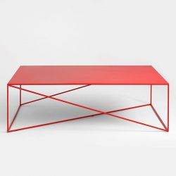 Table de Chevet Memo 140 x 80 cm | Rouge
