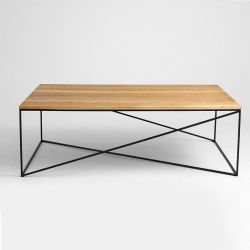 Table de Chevet Memo Wood 140 x 80 cm
