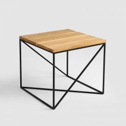Table de Chevet Memo 50 x 50 cm | Bois