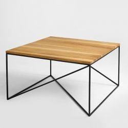 Coffee Table Memo 80 x 80 cm | Wood