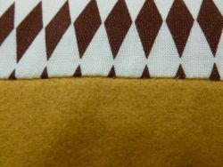 Esperanza cushion brown/yellow