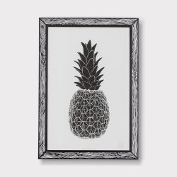 Art Print Piña | Black
