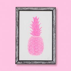 Tirage d'Art Piña | Rose
