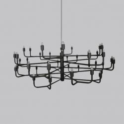 Pendant Lamp | Grand Siecle | Black