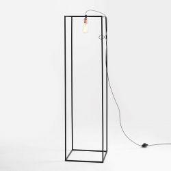 Vloerlamp Metric S | Zwart