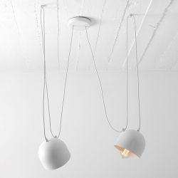 Hanglamp Popo 2 | Wit