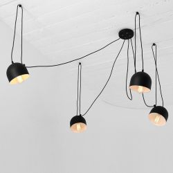 Pendant Lamp Popo 4 | Black