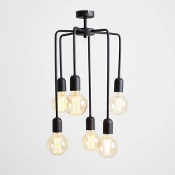 Pendant Lamp Vanwerk Tall | Black