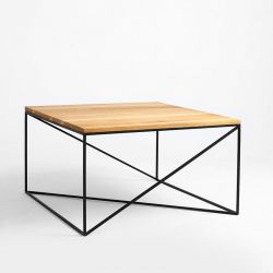 Table de Chevet Memo Wood 100 x 100 cm