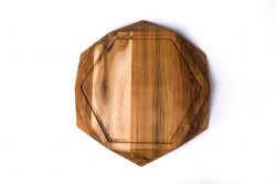 Cutting Board Teak Star with Juice Trench XL