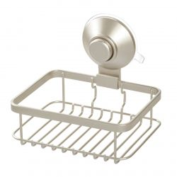 Soap Holder with Suction Cup and Push Lock | Beige