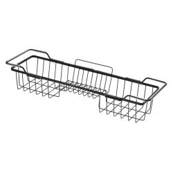 Adjustable Bath Caddy Everett | Black