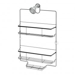 Shower Caddy Everett Wide | Black
