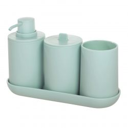 Bathroom Accessories Cade Set of 4 | Mint