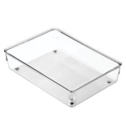 Drawer Organiser 15 x 23 x 5 cm | Transparent