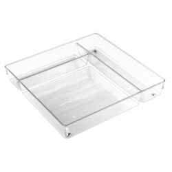 Drawer Organiser 31 x 31 x 5 cm | Transparent