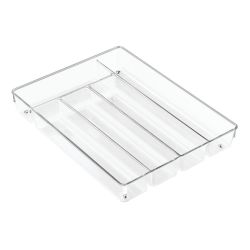 Cutlery Tray 27 x 35 x 5 cm | Transparent