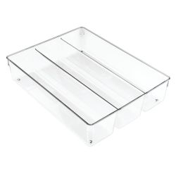 Drawer Organiser 35 x 27 x 8 cm | Transparent