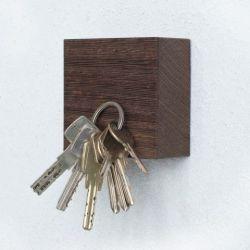 Magnetic Wood Cube TRAKTOR | Wengé