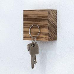 Magnetic Wood Cube TRAKTOR | Zebrano