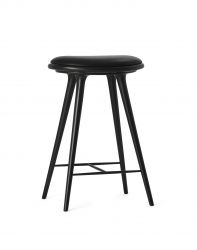 High Stool | Black Stained Beechwood