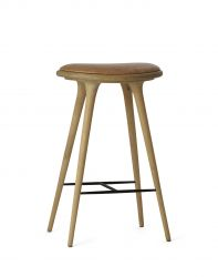 High Stool | Natural Soaped Oak