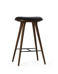 High Stool | Dark Stained Oak