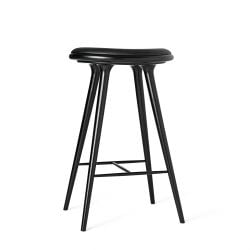 High Stool | Black Stained Oak
