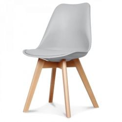 Scandi Chair | Grey
