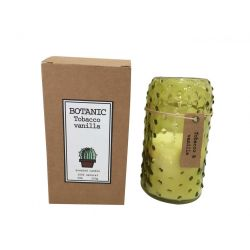 Botanische Duftkerze | Tabak und Vanille