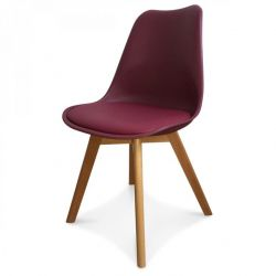 Scandi Chair | Burgundy