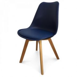Scandi Chair | Dunkelblau