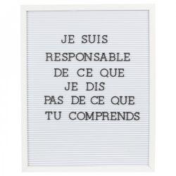 Briefbogen 40 x 50 cm | Weiß