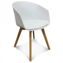 Scandi Armchair | White