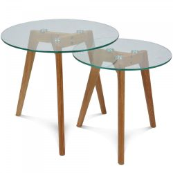 Set of 2 Side Tables