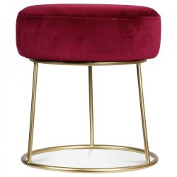 Hobby Tabouret | Wine Red