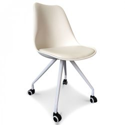 Scandi Chair Office | White