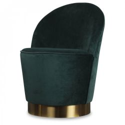 Serge Armchair Velvet | Mint Green