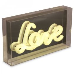 Déco Light Box | Love