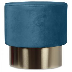 Serge Tabouret Ø 35 cm | Bleu
