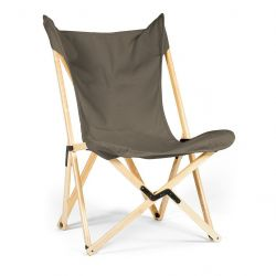 Tripolina Lounge Chair | Grey