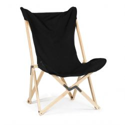 Tripolina Lounge Chair | Black
