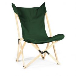 Tripolina Lounge Chair | Dunkelgrün