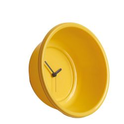 Catino Wall Clock Yellow