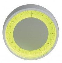 Solo Ora Wall Clock Yellow